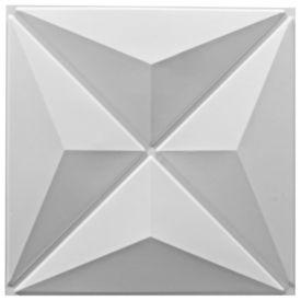 Panou 3D de perete, 24 buc, 0,5 x 0,5 m 6m²
