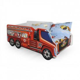 Pat pentru copii masina de pompieri HM Fire Truck