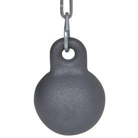 Perie Rotundă pentru Curățat Coșul de Fum Diametru 25 cm