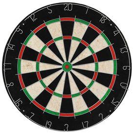 Placă de darts profesională cu 6 săgeți, sisal