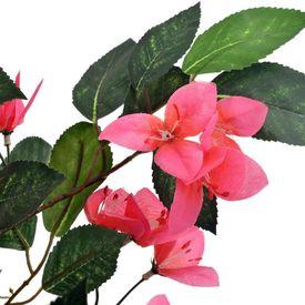 Plantă artificială rododendron cu ghiveci, roz, 165 cm
