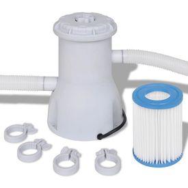 Pompă cu filtru pentru piscină 2000 L/h