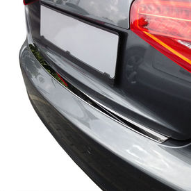 [pro.tec]® Banda de protectie pentru bara de protectie - Audi A4 B8/8K + Avant / proyectie impotriva zgarieturilor