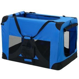 [pro.tec]® Geanta transport patruped - box XXL albastru regal