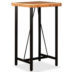 Set de bar 3 piese, Lemn masiv de palisandru și lemn reciclat