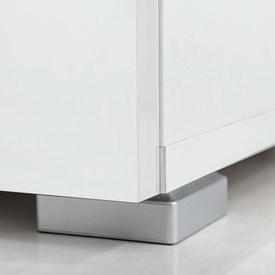 Set mobilier TV 5 piese cu iluminare LED alb