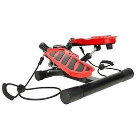 Stepper Swing cu corzi de rezistență, negru și roșu