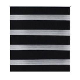 Stor Zebra, 100 x 175 cm, Negru