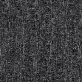 Taburet, material textil, gri închis, 53 x 53 x 41 cm