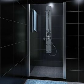 Uşă de sticlă pentru cabina de duş 80 cm