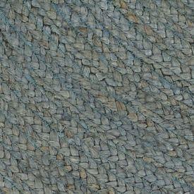 vidaXL Covor manual, verde măsliniu, 150 cm, iută, rotund