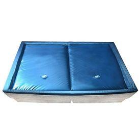 vidaXL Set saltea pat cu apă cu căptușeală și separator 200x220 cm F5