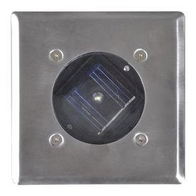 Spoturi solare pătrate pentru exterior, 6 buc