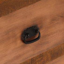 Măsuță de cafea cu 2 sertare, 90x40x50 cm, lemn masiv de mango