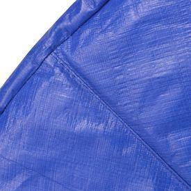 Bandă de siguranță trambulină rotundă de 3,66 m, PE, albastru