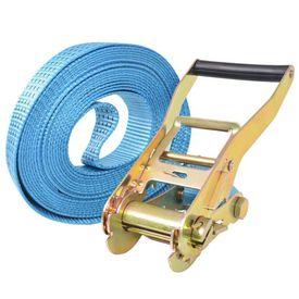 Chingi fixare cu clichet, 10 buc, 4 tone, 8 m x 50 mm, albastru