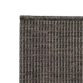 Covor aspect sisal de interior/exterior, 120x170 cm, gri închis
