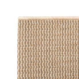 Covor aspect sisal de interior/exterior, 80 x 150 cm, bej