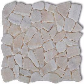 Dale de marmură mozaic1,8 mp, Auriu