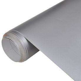 Folie mată impermeabilă pentru mașină, 200 x 152 cm, argintiu