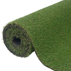 Gazon artificial 1 x 5 m/20-25 mm, Verde