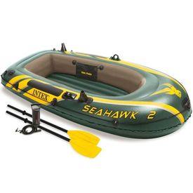 Intex Set barcă gonflabilă Seahawk 2 cu vâsle și pompă, 68347NP