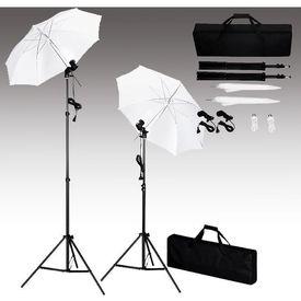 Kit lumini studio foto, tripoduri+umbrele