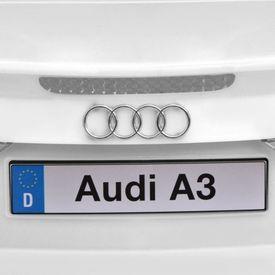 Mașină electrică Audi A3 cu telecomandă, alb