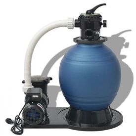 Pompă pentru filtru cu nisip, 1000 W, 16800 l/h