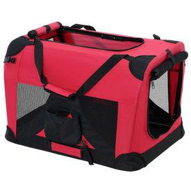 [pro.tec]® Geanta transport patruped - box XL rosu