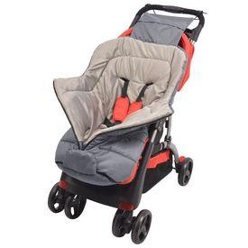 Sac de dormit pentru copii/cărucior 90 x 45 cm, gri