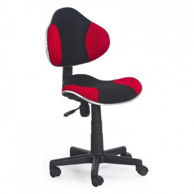 Scaun birou copii HM Flash rosu - negru