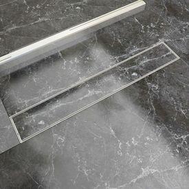 Scurgere duș liniară din oțel inoxidabil, 730 x 140 mm
