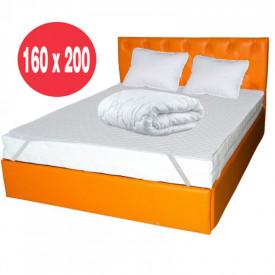 Set Avantaj Saltea Hydra Comfort Flex 160x200 plus 2 perne plus Husa hipoalergenica plus Pilota iarna microfibra 180x200
