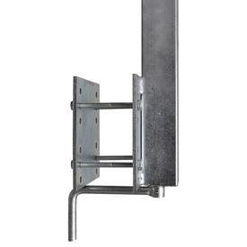 Set de 2 suporturi cu bară pentru remorcă de barcă, 63 - 88 cm