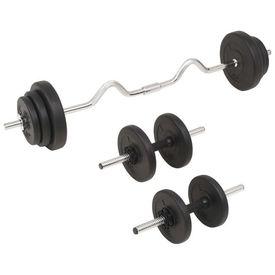 Set de haltere și gantere, 30 kg