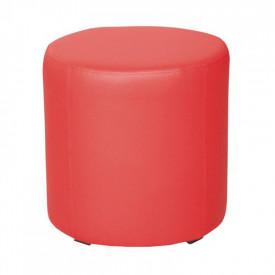 Taburet piele ecologica rosie GL TOP 45