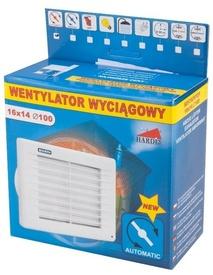 Ventilator cu Jaluzea Automata  100x140x160 - 671403