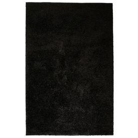 vidaXL Covor cu fir lung 180 x 280 cm Negru