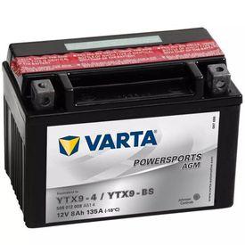 Baterie Varta pentru motocicletă Powersports AGM YTX9-4 / YTX9-BS