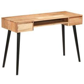Masă de scris, lemn masiv de salcâm, 118 x 45 x 76 cm