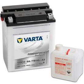 Baterie Varta pentru motocicletă Powersports Freshpack YB14L-A2