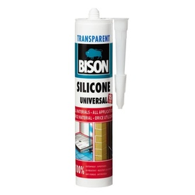BISON Silicon universal transp. 280ml