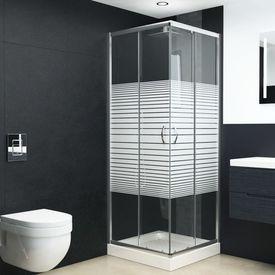 Cabină de duș, 90x70x180 cm, sticlă securizată