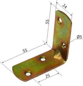 Coltar pt Mobila SG 12017 - 55x55x24x2 - 649261