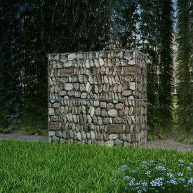 Coș gabion din oțel, 100 x 50 x 100 cm