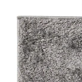 Covor cu fir lung, 140 x 200 cm, gri