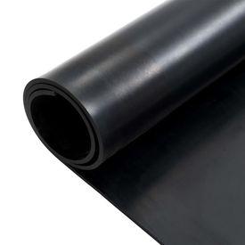 Covor de cauciuc anti-alunecare, 1,2 x 2 m, 12 mm, neted