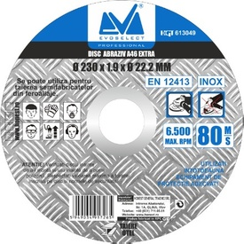 Disc Abraziv Evoselect A46 Extra 115x1.6mm - 613046