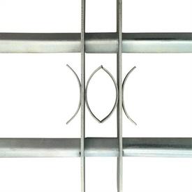 Grilaj de siguranță pentru ferestre cu 2 bare transversale 1000-1500mm